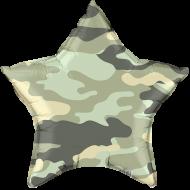 """Звезда """"Камуфляж"""" серый"""