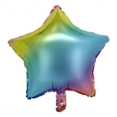 Звезда радужная пастель
