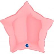 Звезда розовый пастель