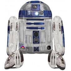 """Ходячий шар """"Звездные войны R2D2"""""""