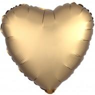 Сердце сатин золото люкс
