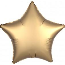 Звезда сатин золото люкс