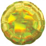 Круг золото перламутр