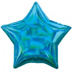 Звезда синий перламутр