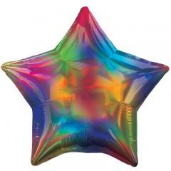 Звезда радуга перламутр