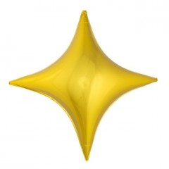 Звезда-ромб золото