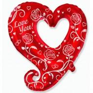 "Сердце ""Сердце и розы"""