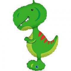 """Фольгированный шар """"Малыш тираннозавр"""""""