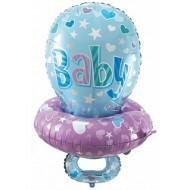 """Фольгированный шар """"Соска"""" для мальчика"""