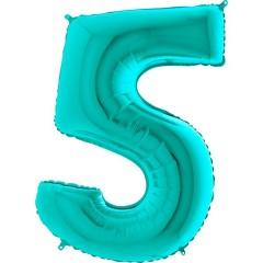 """Цифра """"5"""" тиффани"""