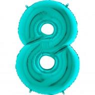 """Цифра """"8"""" тиффани"""