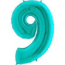 """Цифра """"9"""" тиффани"""