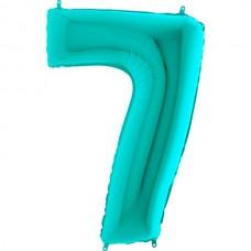 """Цифра """"7"""" тиффани"""