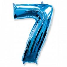 "Цифра ""7"" синий"