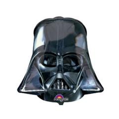 """Фольгированный шар """"Шлем Вэйдера.Звездные войны"""""""