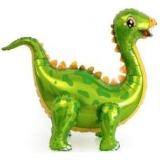 """Ходячий шар """"Динозавр Стегозавр"""" зеленый"""