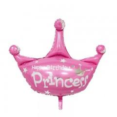 """Фольгированный шар """"Корона"""" принцесса"""