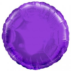 Круг фольгированный фиолетовый