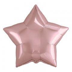 Звезда розовое золото