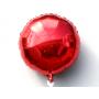 Круг фольгированный красный 75 см.