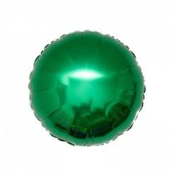 Круг фольгированный зеленый