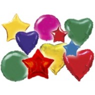 Сердца Звезды Круги без рисунка