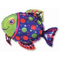 """Фольгированный шар """"Рыбка"""""""