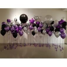"""Стена """"Фиолетовый пунш"""""""