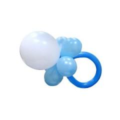 """Фигура из шаров """"Соска"""" мальчик"""