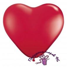 """Воздушный шар """"Сердце"""" красное"""