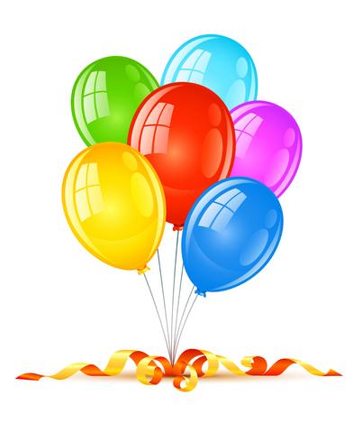 Палитра цветов воздушных шаров