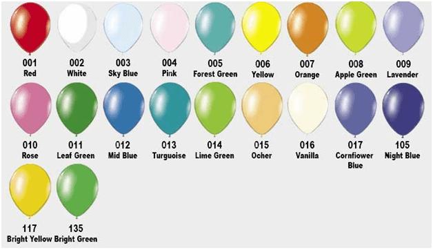 Воздушные шары Латекс Оксидентл (пастель)